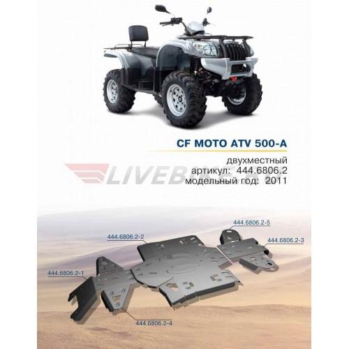 защита днища для квадроцикла CF moto 500 A basic