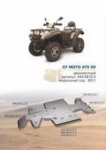 Защита днища квадроцикла СF moto x6/x5