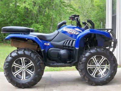 Комплект шноркелей для квадроцикла YAMAHA GRIZZLY 660