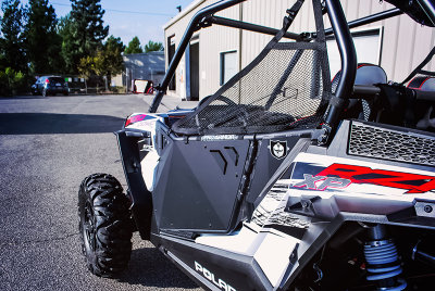 Двери ProArmor черные для Polaris RZR XP 1000 ProArmor SUICIDE DOOR METAL