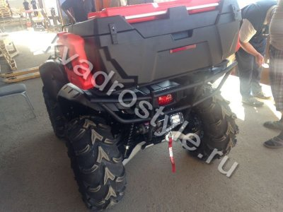 Задний бампер для Yamaha GRIZZLY 550/700 арт2