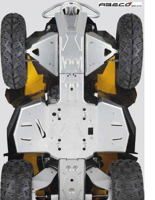 Защита днища для can-am (brp) renegade 800/1000 g2