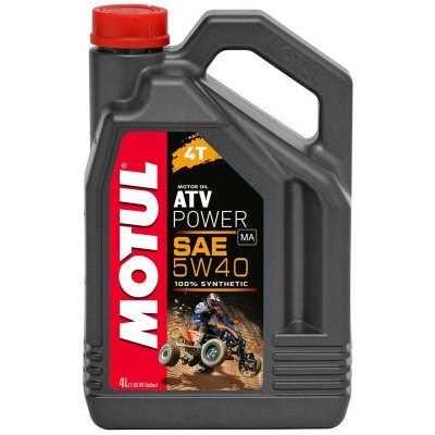 Моторное масло 100%синтетика  MOTUL ATV-SXS POWER 4T 10W50 (4 литра)