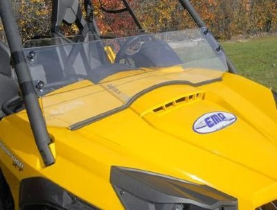 Стекло лобовое EMP Can-Am Commander Half Windshield