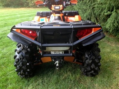 Задний БАМПЕР ДЛЯ КВАДРОЦИКЛА POLARIS SPORTSMAN 550/850