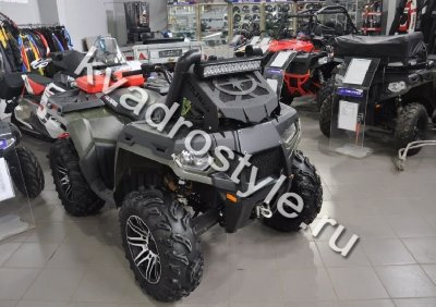 Вынос радиатора на Polaris 800 Forest c 2011г