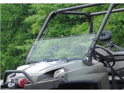 Стекло лобовое 1/2 Super Atv для Polaris Ranger XP 500/700/800/Crew HWS-P-RAN09XP